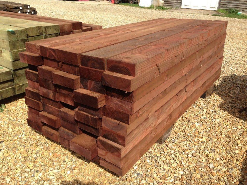 New Oak sleepers 2.4m 200x100